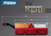 Lampa stop 6 functii dreapta Kingpoint FT-500-25LED Fristom (40x15.3)