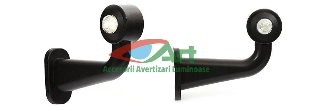 Lampa LED gabarit cu brat cot la 90 grade dreapta /stanga 1 led BRAT LUNG [8]