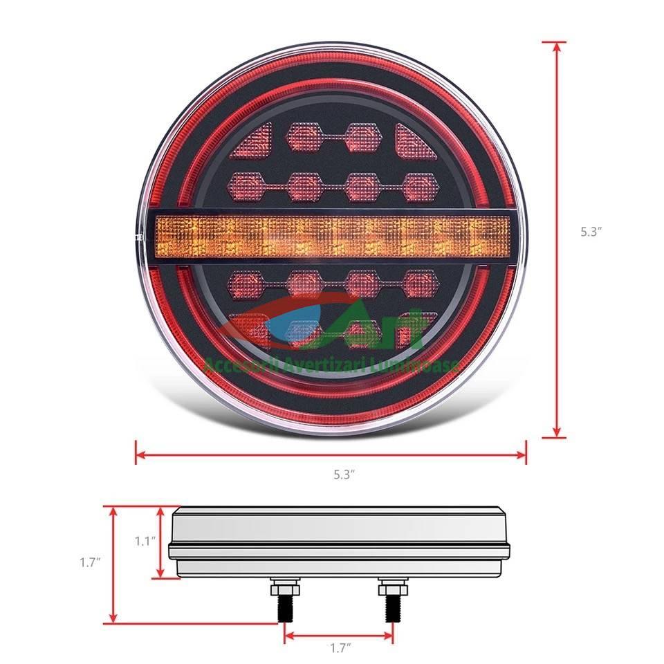 Lampa stop LED semnal dinamic fi139 V1909 [13]