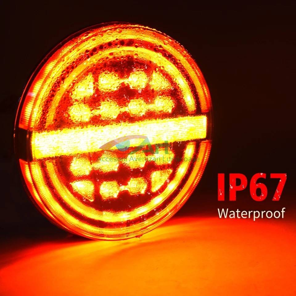 Lampa stop LED semnal dinamic fi139 V1909 [14]