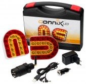 Kit lampi wireless LED prindere magnetica Connix